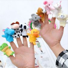 10Pcs Baby Kids Finger Puppets Animal Lovely Hand Cartoon Story Educational Toys http://ift.tt/2k4roQL