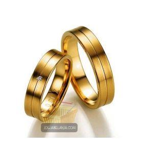 cincin kawin dari perak lapis emas