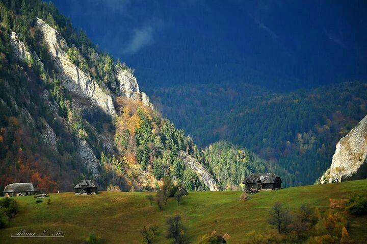 Magura village, Piatra Craiului mountains, Romania