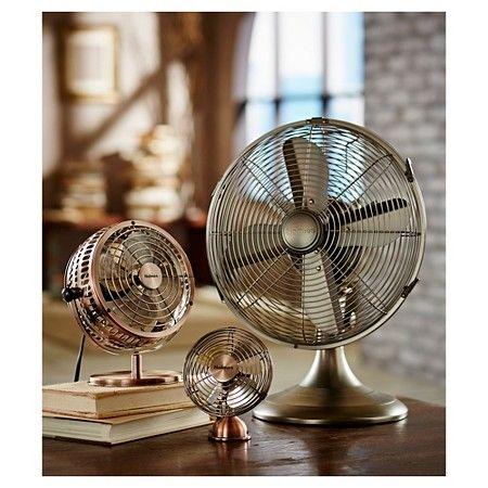 Holmes® Metal Desk Fan, Medium, Bronze (HDF0646-CT) : Target