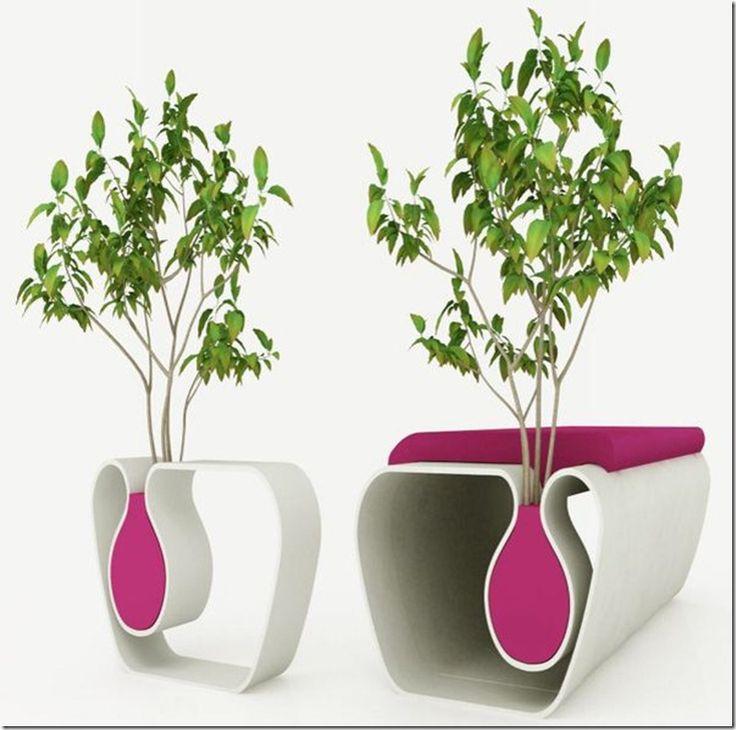 Design Future Innovative Design Flowerpot Table A New