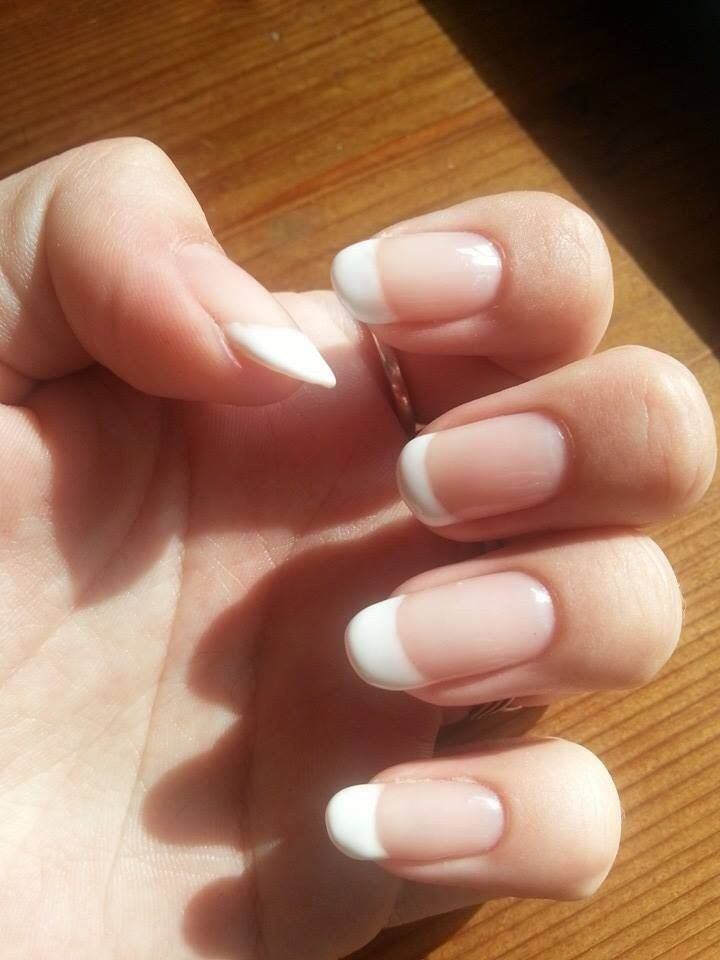 17 best images about how to make french manicure on pinterest. Black Bedroom Furniture Sets. Home Design Ideas