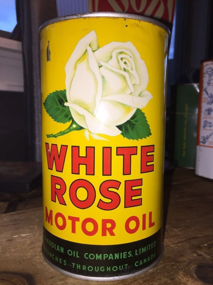 Vintage 1 Imperial Quart White Rose Motor Oil Can | Collectibles, Advertising, Gas & Oil | eBay!