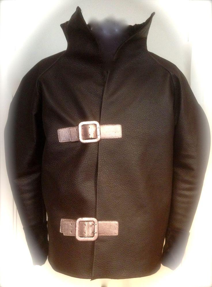 """Steriod Bulk Raglan"" Jacket by Rawmence .  Imitiated leather autumn 2015 BY Walter Heidkampf"