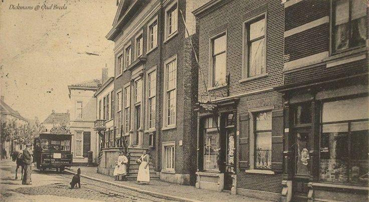 De Raadhuisstraat 1907
