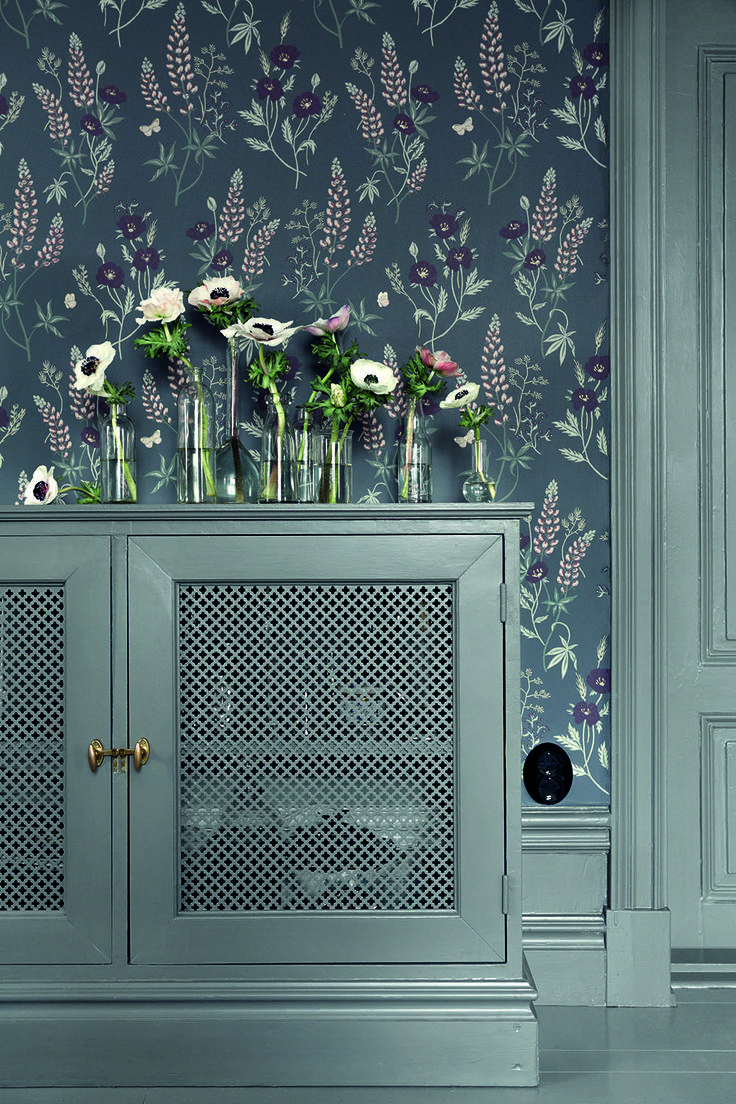 "Picture by me and Anna Malmberg for Sandberg Wallpapers collection ""Villa Dalarö""."