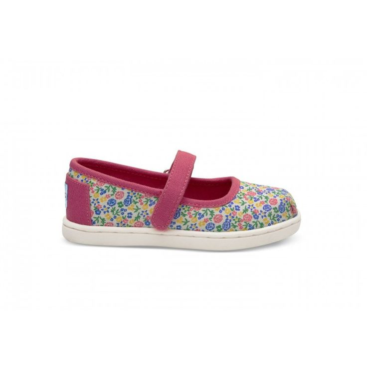 john-andy.com | Toms Παπούτσια Παιδικά  Mary Jane Multi Floral 10010017