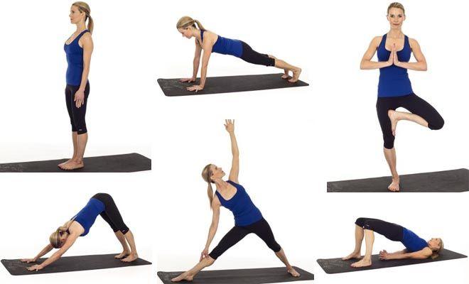 10 belangrijkste poses voor beginnende yogi's