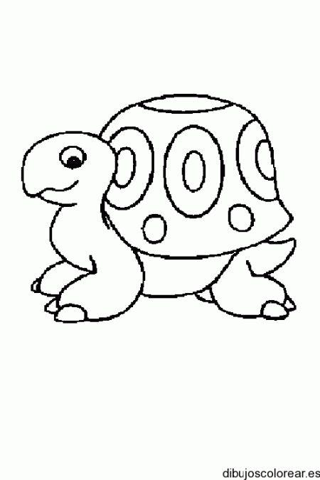 Dibujo de una pequeña tortuga