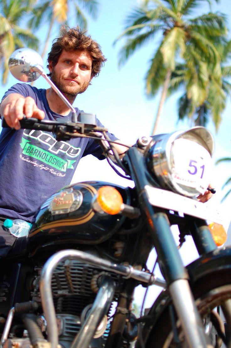 Guy Martin in India