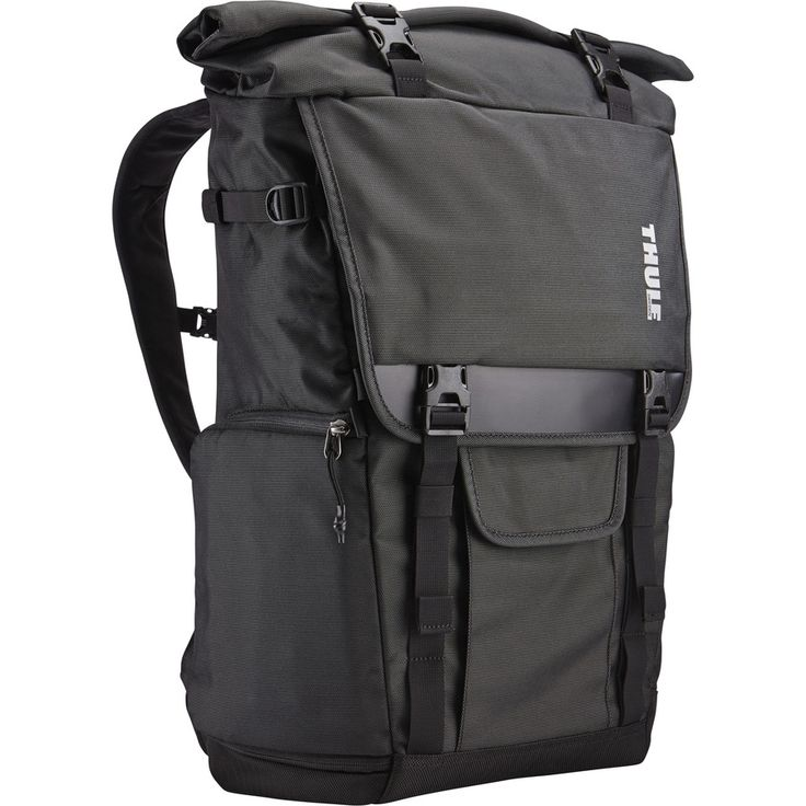 Thule - Covert DSLR Rolltop Backpack - Dark Shadow