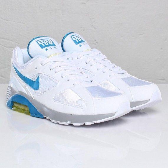 Nike Air 180 - White/Imperial Blue-Matte Silver