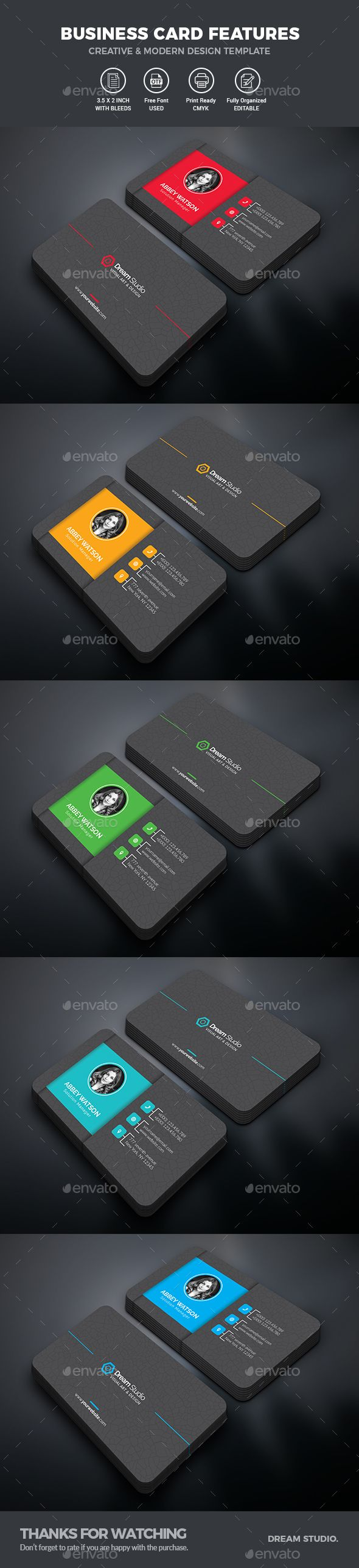 Business Cards - #Business #Cards Print Templates