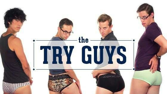Eugene Lee Yang // Zach Kornfeld // Ned Fulmer // Keith Habersberger // Buzzfeed // The Try Guys