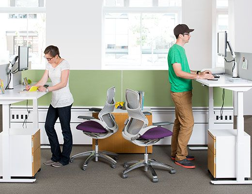 Generation By Knoll Task Chair: This Award Winning Work Chair Offers A New  Standard
