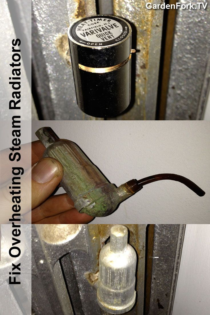Fix Your Overheating Steam Radiators with this #DIY How To : http://www.gardenfork.tv/fix-overheating-steam-radiators-yourself