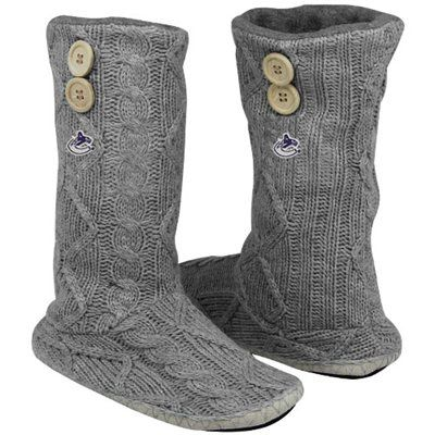 Vancouver Canucks Knit boots