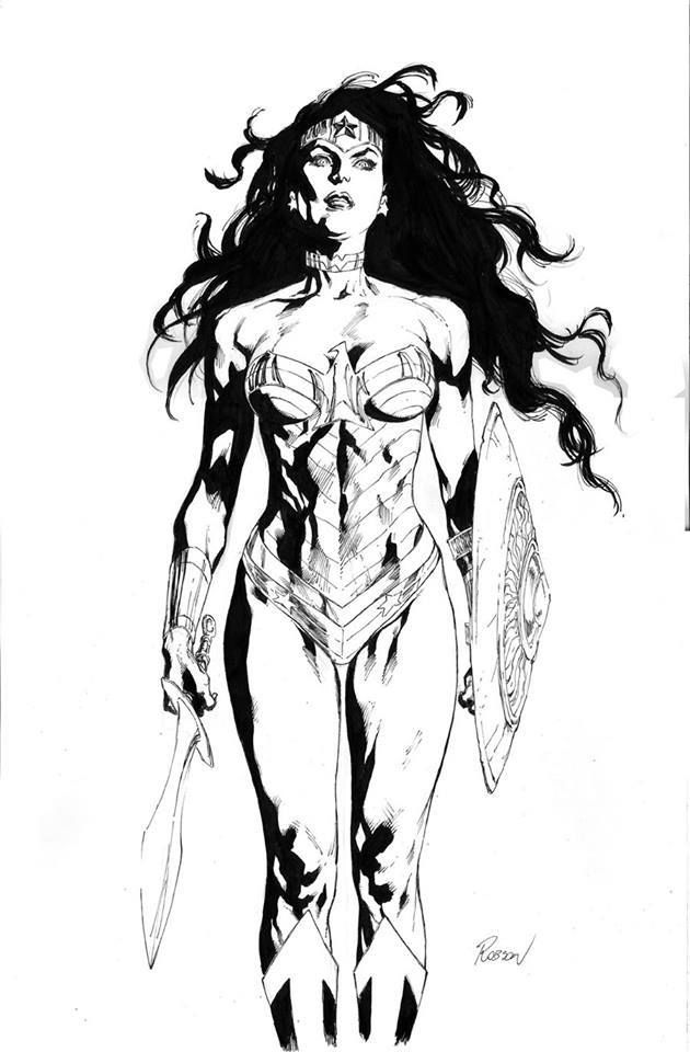 The Women Of Dc Comics Ink In Adam Withers S Dc Comics: 342 Best Comics : DC : Wonder Woman Images On Pinterest