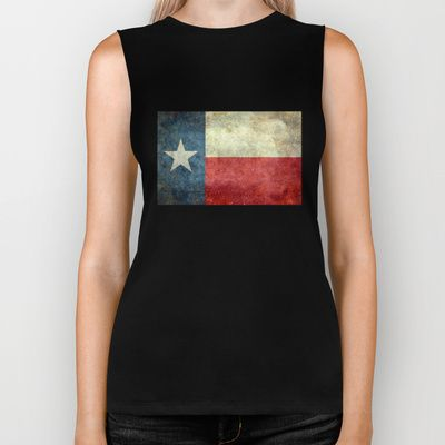 """The State flag of Texas - The """"Lone Star Flag"""" of the """"Lone Star State"""" Biker Tank by LonestarDesigns2020 - Flags Designs + - $28.00"""