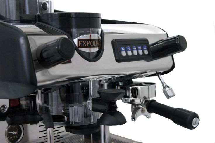 Compact automatic espresso coffee machine with 1 group, electronic switchboard to control the coffee dosages volumetrically,  automatic water filling and copper boiler with 6 litres capacity with heat exchanger per group. One steam tap (stainless steel) and one hot water tap. Inbuilt automatic grinder with cutting blades of 60mm in diameter. Motor size is 445w with thermal protection, 1300 rpm. Dosimeter adjustable from 5 grams to 12 grams.