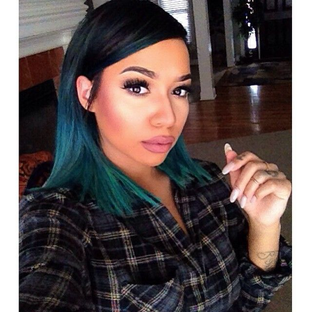 16 best images about teal hair color styles on pinterest