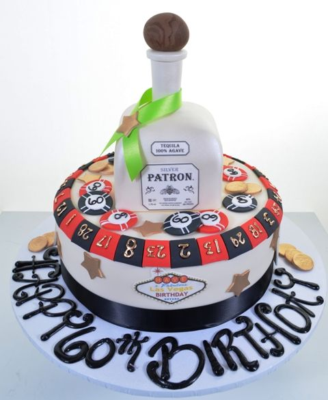 12 Best Images About 50th / Vegas Cakes On Pinterest