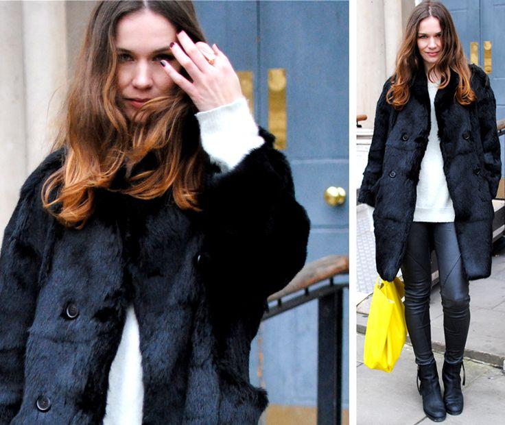 photo by ediot Caroline blomst of stockholm streetstyle lfw londonfashionweek london fashion week