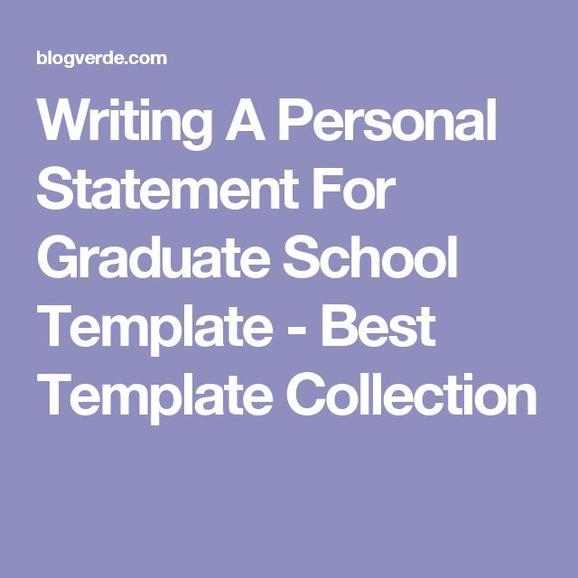 Best 25+ Personal statement grad school ideas on Pinterest - personal statement sample
