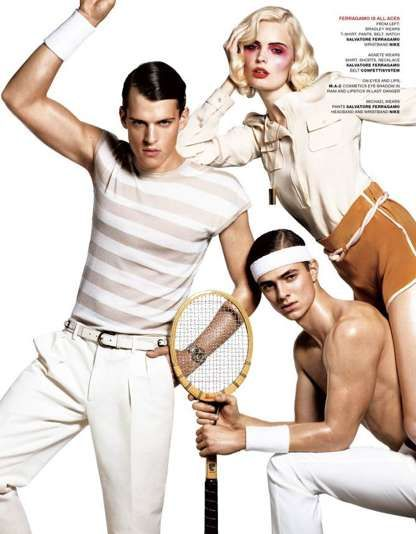Haute Workout Wear - Game On by Terry Tsiolis Recommends Dolce & Gabbana for Gymnastics (GALLERY)