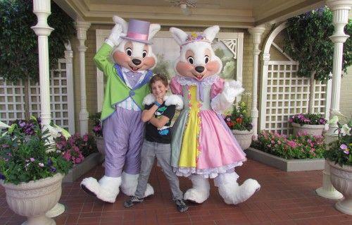 East Bunny Meet and Greet Magic Kingdom