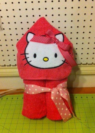 got love the hello Kitty hooded towel! Greatest gift for little girls