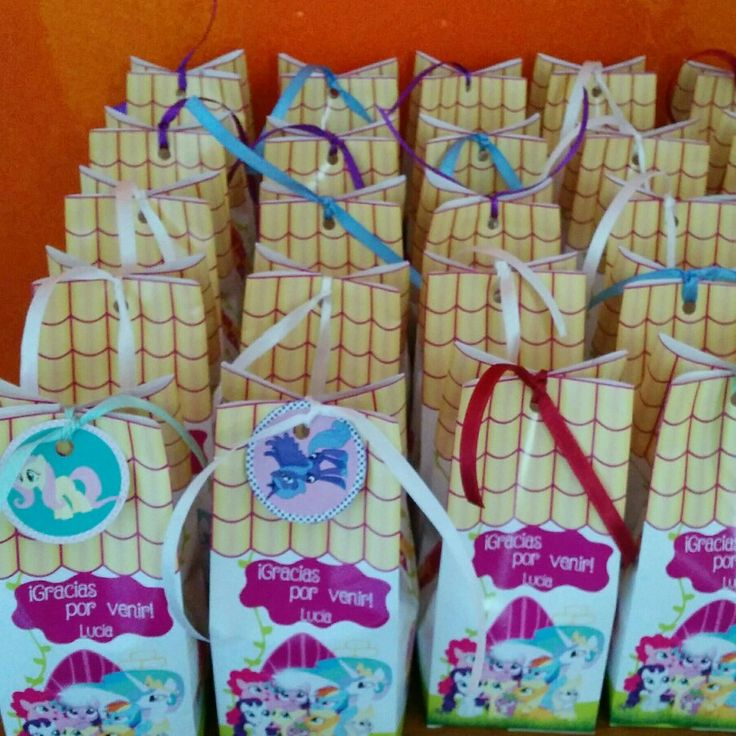My little pony candy bag