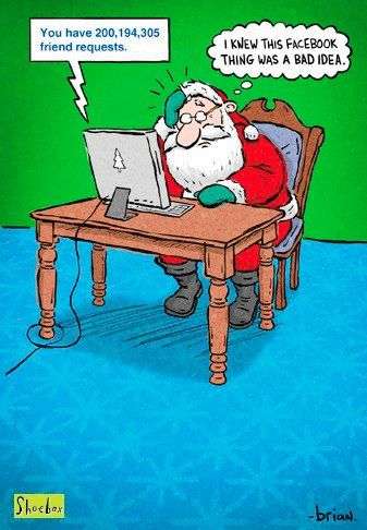 Santa and Facebook