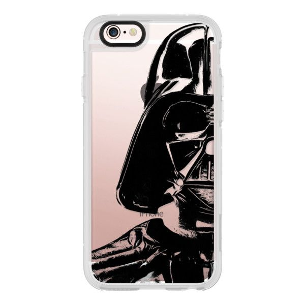 iPhone 6 Plus/6/5/5s/5c Case - Darth Vader Star Wars 4... ($40) ❤ liked on Polyvore featuring accessories, tech accessories, iphone case, iphone hard case, apple iphone cases and iphone cover case