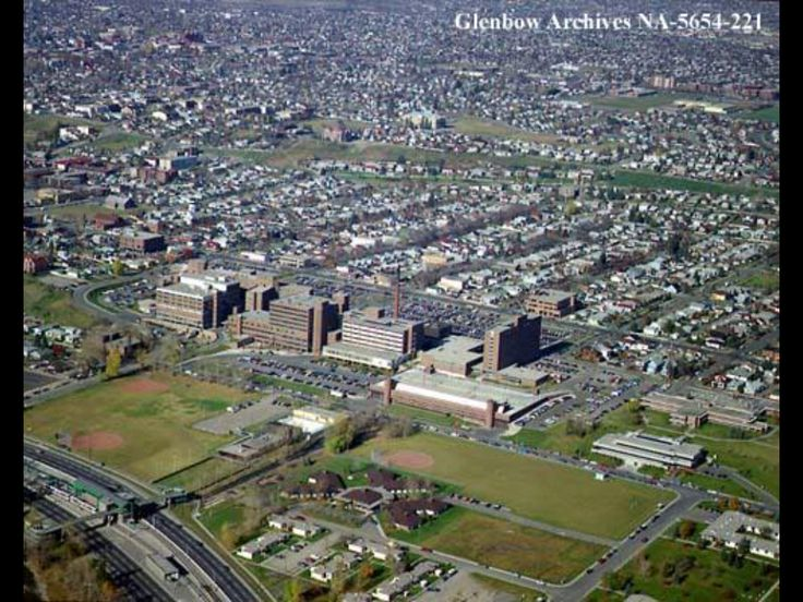 General Hospital and area 1986