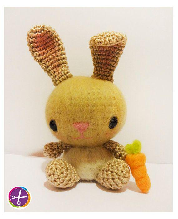 Bunny Amigurumi  Needle Felting