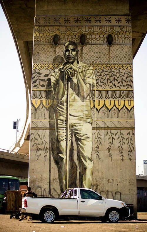 by Faith47 - New piece in Durban, South Africa - 05.07.2014