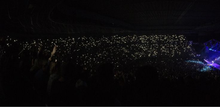 My first panorama pic turned out pretty well. Hilltop Hoods concert in Melbourne.