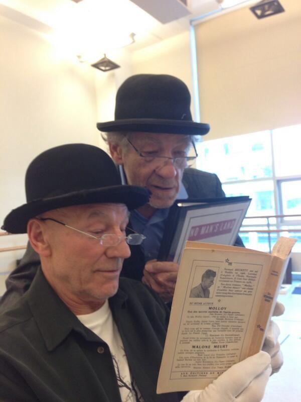 Patrick Stewart And Ian McKellen's Friendship Is Better Than Yours - Precious.