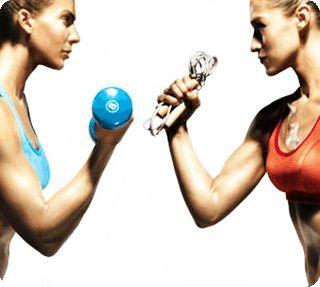 Комбинированные тренировки в тренажёрном зале для девушек