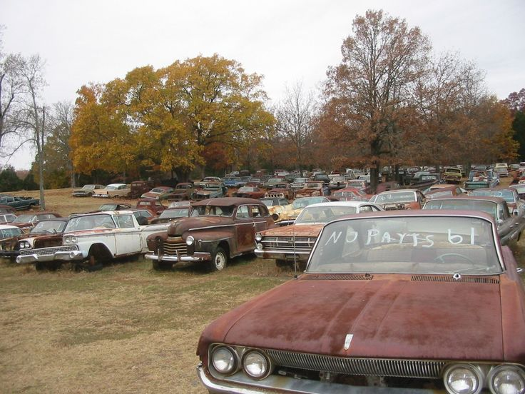 Old Car Salvage Yards In Nc