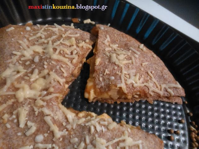 Μάχη στην κουζίνα: Τορτίγιες Ολικής Με Κοτόπουλο ή Κεσαδίγια (quesadi...
