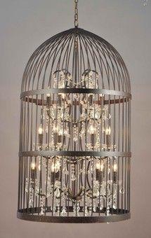 Birdcage Chandelier Large 12 Lights