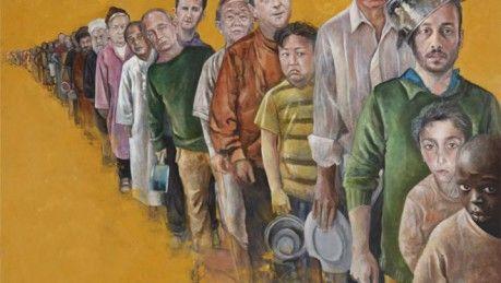 Los poderosos retratos de los líderes mundiales imaginados como refugiados - MDZ Online