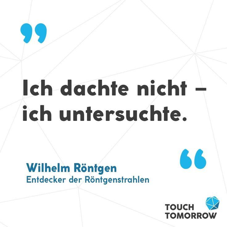 Weniger überlegen, mehr machen: Stets orientierte sich Wilhelm Röntgen in sein… – Education Tips for Students