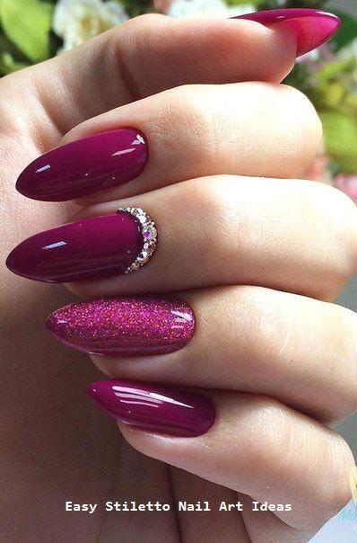 30 große Stiletto Nail Art Design-Ideen #nailideas – Nägel