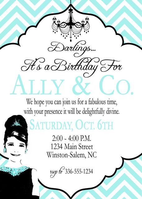 "Photo 1 of 24: Tiffany & Co., Breakfast at Tiffany's Birthday / Birthday ""Ally & Co. Birthday"" | Catch My Party"