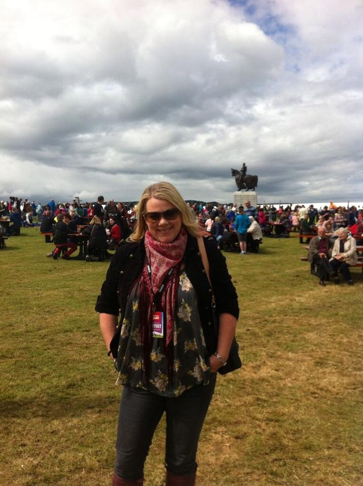 Robyn Young at Bannockburn Live 2014