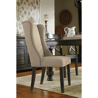 Shop for Signature Design by Ashley Gerlane Light Brown Dining Chair (Set of 2). Get free shipping at Overstock.com - Your Online Furniture Outlet Store! Get 5% in rewards with Club O! - 19002184