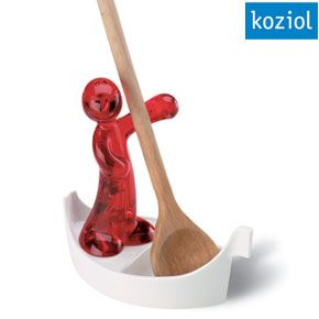 Love this. £16.50: Kitchens, Luigi Spoonrest, Red, Spoons, Gift Ideas, Products, Design